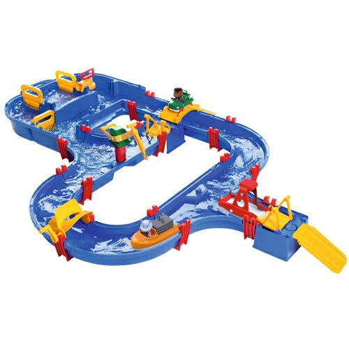 【水遊び】 BorneLund(ボーネルンド ).AquaPlay(アクアプレイ)社 アクアワールド(旧・カナルロック アクアワールド)(季節限定品)おもちゃ