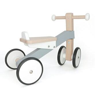 【木のおもちゃ】【乗用玩具】ボーネルンドバヨ社木の四輪バイクお誕生日1歳【クリスマスプレゼント子供】