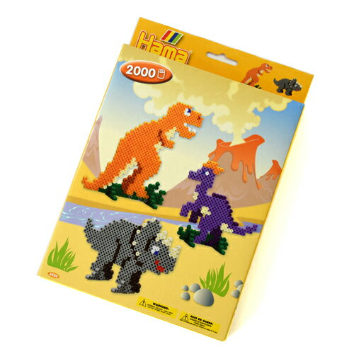 【知育玩具】 BorneLund(ボーネルンド )ハマビーズ 恐竜のせかい メイキングトイ 子供 ギフト【節句 入園 卒園 入学】【P】