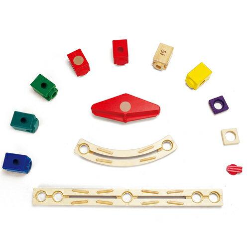 【木のおもちゃ】 【木製玩具 知育玩具 スロープ】 BorneLund(ボーネルンド) クアドリラ スピードウェイセット 4歳【P】