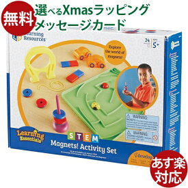 教育玩具 STEM アクティブラーニング BorneLund(ボーネルンド)社 STEM(ステム)シリーズ 実験!磁石のふしぎ おうち時間 クリスマス プレゼント 子供