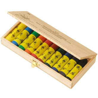 .10 colors of Germany Eco Nome Corporation big beeswax crayon sets