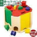 木のおもちゃ 型はめ セレクタ社 SELECTA ポストボックス クアトリノ グッド・トイ 2016 誕生日 1歳 おうち時間 子供 …
