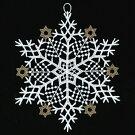 クリスマスツリーオーナメントSAレース・結晶枝・ゴールドブラザージョルダン【クリスマス】【ポイント10倍】【P11Sep16】