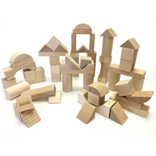 【木のおもちゃ】ブリオ/BRIO つみき50ピース 積み木 ブロック お誕生日 1歳 男 女【節句 入園 卒園 入学】【P】