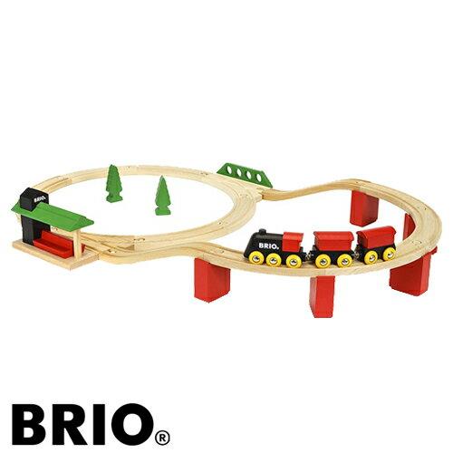 【おまけ付き 直線レール33393】【木のおもちゃ】 ブリオ/BRIO 木製レール クラシックDXレールセット 車両 列車【kd】