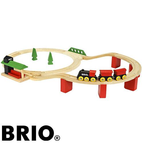 【木のおもちゃ】 ブリオ/BRIO 木製レール クラシックDXレールセット 車両 列車【節句 入園 卒園 入学】【P】