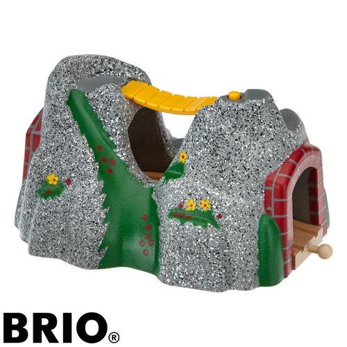 【木のおもちゃ】ブリオ/BRIO 木製レール アクセサリー アドベンチャートンネル【kd】