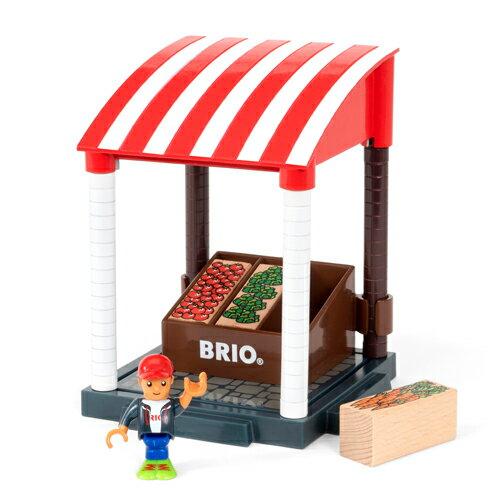 【木のおもちゃ】 ブリオ/BRIO Village ヴィレッジ マーケット ごっこ遊び【autumn_D1810】【kd】