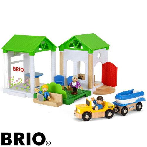 【木のおもちゃ】 ブリオ/BRIO Village ヴィレッジ サマーハウス ごっこ遊び【autumn_D1810】【kd】