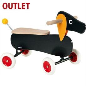 【30%OFF アウトレット品 キッズ】乗用玩具 木のおもちゃ BRIO ライドオン ダッチー 誕生日 1歳【Y】【kd】
