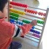 Wooden toys エトボイラ educational toys レインボーアバカス (Univ. of Abacus Shiraki) 3 years: 3-year-old man: woman