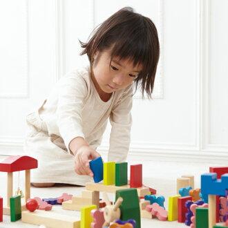 【木のおもちゃ知育玩具】エド・インタードキドキドミノ【おうち時間子供】
