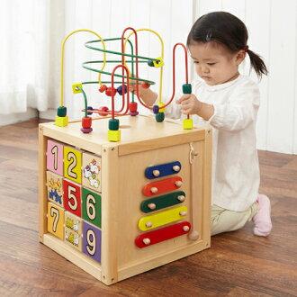【木のおもちゃ知育玩具】エド・インター森のあそび箱誕生日1歳男女【クリスマスプレゼント子供】【c】【】