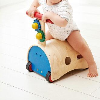 手押し車エド・インターのっておして!すくすくウォーカー乗用玩具型はめ手回し指先訓練誕生日1歳おうち時間子供入園入学