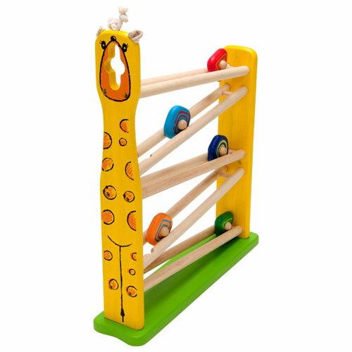 【木のおもちゃ】 スロープ I'm TOY アイムトイ 知育玩具 キリンスロープ お誕生日 1歳:男 お誕生日 1歳:女【節句 入園 卒園 入学】【Y】