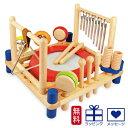 【木のおもちゃ】【木製玩具 知育玩具 型はめ  出産祝い】 I'm TOY アイムトイ 音楽 ミュージックステーション 木のおもちゃ お誕生日 2歳:男 女
