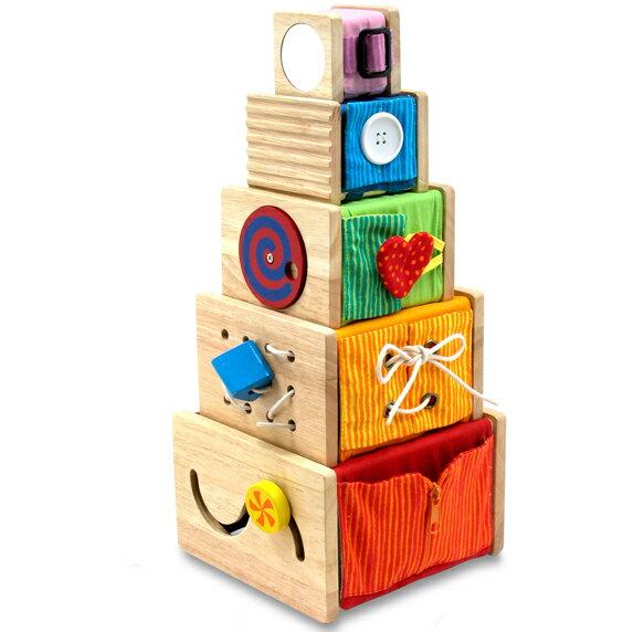 【知育玩具】 【木のおもちゃ 型はめ 出産祝い 双子 ハーフバースデー】 アイムトイ社 トレーニングキューブ 誕生日 1歳 男の子 女の子【P】