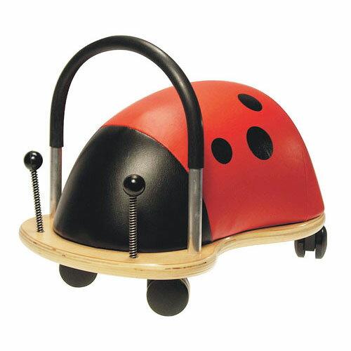 【木のおもちゃ 乗用玩具】 wheely bug ウィリーバグ てんとう虫(L) お誕生日 3歳 男 女【Y】