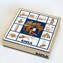 【積み木】 ブロック 知育玩具 正規輸入品・小冊子のおまけ付 積み木・ブロック KAPLA・カプラ100 誕生日 2歳【初節句 入園卒園 入学卒業 お祝い】