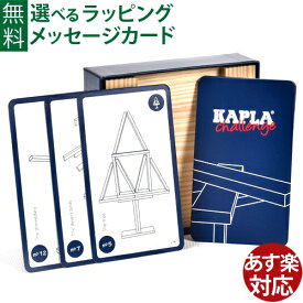 積み木 ブロック 知育玩具 正規輸入品 ブロック KAPLA カプラ challenge おうち時間 子供 入園 入学