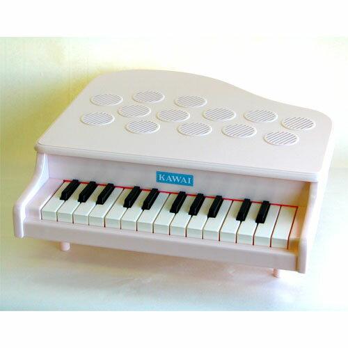 楽器玩具 河合楽器 カワイミニピアノ P-25 ピンキーホワイト お誕生日 3歳:女 【節句 入園 卒園 入学】【P】