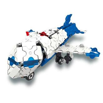 追跡メール便OKLaQラキューハマクロンコンストラクター飛行機ブロック5歳知育玩具おうち時間子供入学