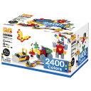 【LaQ】ブロック LaQ(ラキュー)/ヨシリツ Basic2400Colors(ベーシック2400カラーズ)2400+60pcs お誕生日 5歳:男