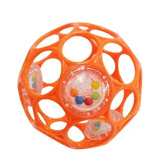 【知育玩具】オーボール(RhinoToys)社オーボールラトル・オレンジ【こどもの日初節句】【ポイント10倍】【】
