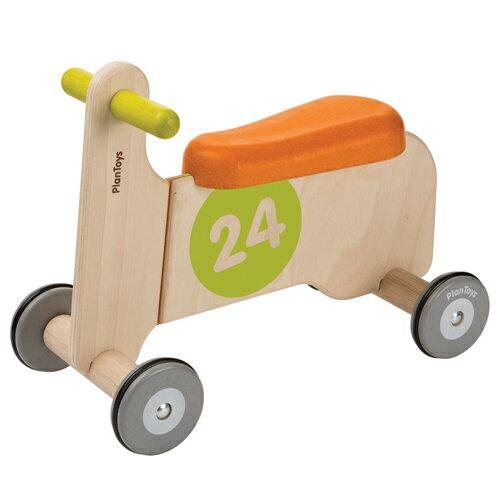 【木のおもちゃ 木製玩具】【乗用玩具】プラントイの木のおもちゃ Plantoys バイクライドオン1 お誕生日 1歳:女【節句 入園 卒園 入学】【Y】