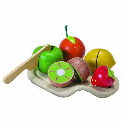 ままごとセット 【木のおもちゃ】プラントイの木のおもちゃ Plantoys 詰め合わせフルーツセット お誕生日 3歳:女