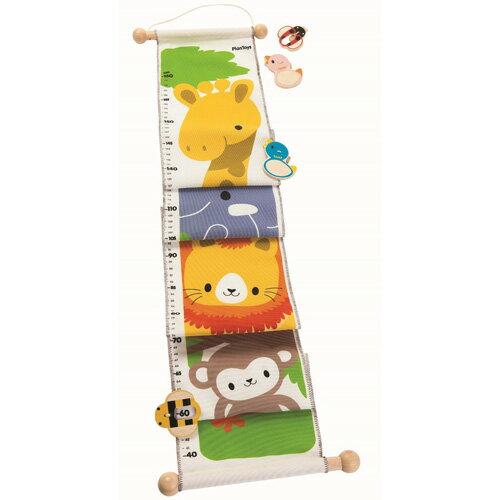 木のおもちゃ プラントイ Plantoys 身長計 ジャングルハイト お誕生日 2歳:男 お誕生日 2歳:女【c】【】