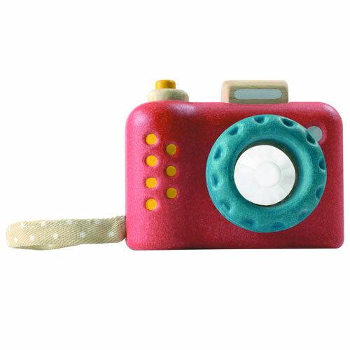 【木のおもちゃ】プラントイの木のおもちゃ Plantoys マイファーストカメラ お誕生日 1歳:女【c】【】