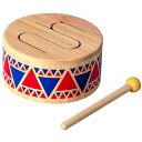 知育玩具 Plantoys 音楽 ソリッドドラム グッド・トイ2015 【木のおもちゃ】プラントイの木のおもちゃ お誕生日 1歳:…