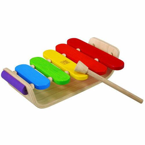 【木のおもちゃ 楽器玩具 出産祝い プラントイ オーバルシロフォン 誕生日 1歳 男の子 知育玩具【節句 入園 卒園 入学】【P】