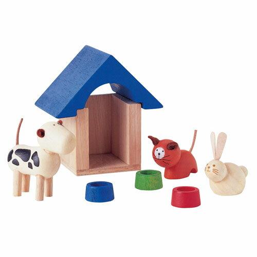 【木のおもちゃ】プラントイのドールハウス Plantoys ペットアンドアクセサリー お誕生日 3歳:女 【節句 入園 卒園 入学】【P】