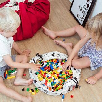 【先行販売数量限定】play&gominiプレイアンドゴーミニスペース【おもちゃ箱収納袋】【】【クリスマスプレゼント子供】