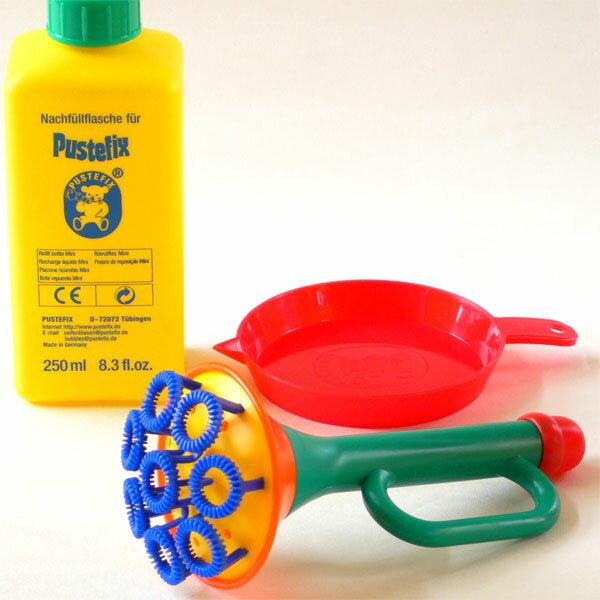 【水遊び】知育玩具 シャボン玉 PUSTEFIX プステフィクス トランペット【P】【kd】