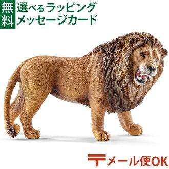 【動物フィギュア】schleichシュライヒライオン(吠える)【ごっこ遊び】【c】【】