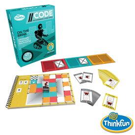 【プログラミング おもちゃ】アメリカ ThinkFun(シンクファン) 社 コード オン・ザ・ブリンク STEM 日本正規品【脳トレ パズル】【P】【kd】