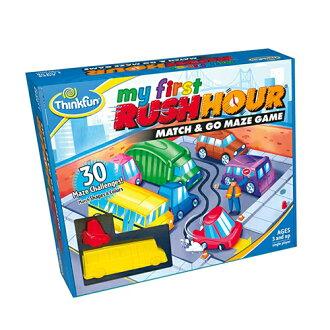 ボードゲームアメリカThinkFun(シンクファン)社myfirstRUSHHOURマイファーストラッシュアワー日本正規品脳トレパズル3歳おうち時間子供
