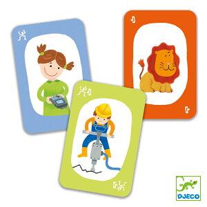 DJECO ジェコ プエット!プエット! おもちゃ 知育玩具 海外 こども 男の子 女の子 5歳以上 おすすめ プレゼント ギフト 誕生日 ボードゲーム カードゲーム 音まね ジェスチャー おうち時間 ラッ