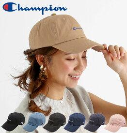 キャップ チャンピオン Champion 楽天 無地 シンプル ローキャップ LOW CAP 帽子 メンズ レディース デニム ツイル ワンポイント ロゴ刺繍 カジュアル ストラップバック STRAPBACK アウトドア 外遊び 日よけ ブラック 黒 ベージュ ネイビー ピンク 調節可能 おしゃれ