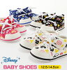 Fashion 12.5 13 13.5 14 14.5 that the light light weight baby baby first shoes which are easy to wear child sneakers Disney Disney Mickey Mickey mini Minnie Donald Donald child shoes magic tape Velcro of the baby shoes Rakuten shoes shoes boy woman are p
