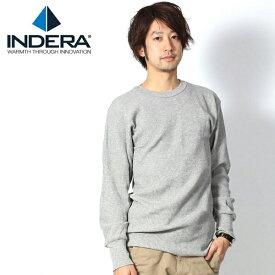 MILLS サーマル 楽天 インデラミル インデラミルズ 100%コットン ロング Tシャツ INDERA