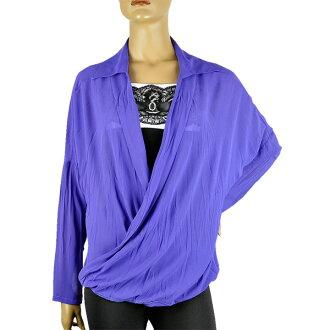 意大利进口 POI kashooltunic 衬衫紫色 10P19Dec15