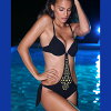 意大利进口豪华 017 pushupmonokini 泳衣 (一件泳装) 10P07Nov15