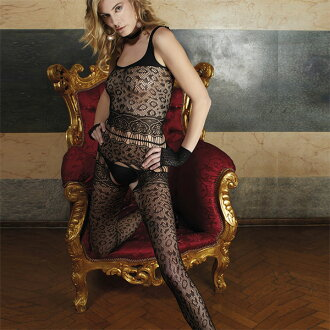 Import body stocking (net tights) TRASPARENZE CANNONAU animal pattern body stocking (net tights) guilt in Italy