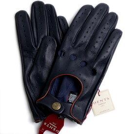 デンツ【送料無料】DENTS ドライビング グローブ 5-1011 Navy/Tanメンズ 手袋【手ぶくろ 男性用 】