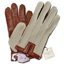 デンツ【送料無料】DENTS メッシュドライビンググローブ 5-1050 Cognac メンズ 手袋0604
